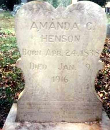 GAINS HENSON, AMANDA CATHERINE - Randolph County, Arkansas | AMANDA CATHERINE GAINS HENSON - Arkansas Gravestone Photos
