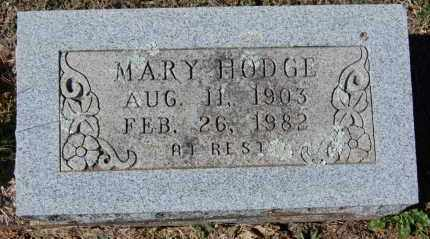 HODGE, MARY - Randolph County, Arkansas | MARY HODGE - Arkansas Gravestone Photos