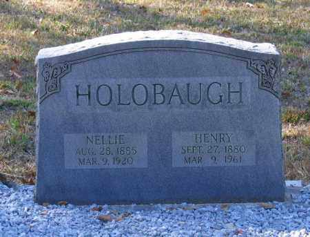 HOLOBAUGH, NELLIE - Randolph County, Arkansas | NELLIE HOLOBAUGH - Arkansas Gravestone Photos