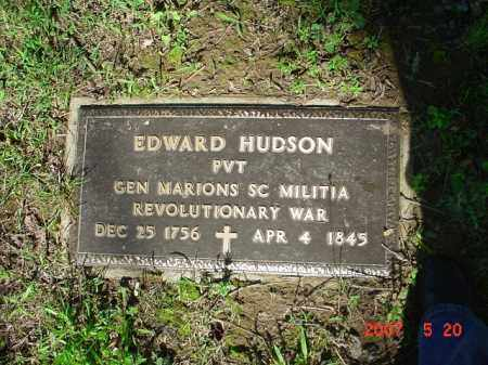 HUDSON (VETERAN RW), EDWARD - Randolph County, Arkansas | EDWARD HUDSON (VETERAN RW) - Arkansas Gravestone Photos