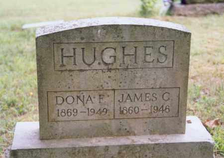 LAND HUGHES, DONA F. (CALDONIA FRANCES) - Randolph County, Arkansas | DONA F. (CALDONIA FRANCES) LAND HUGHES - Arkansas Gravestone Photos