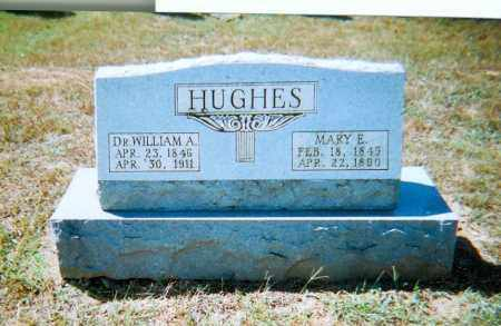 HUGHES, MARY E. - Randolph County, Arkansas | MARY E. HUGHES - Arkansas Gravestone Photos