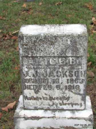 JACKSON, ALICE B - Randolph County, Arkansas | ALICE B JACKSON - Arkansas Gravestone Photos