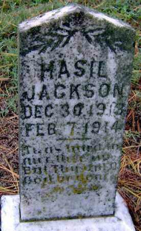 JACKSON, HASIL - Randolph County, Arkansas | HASIL JACKSON - Arkansas Gravestone Photos