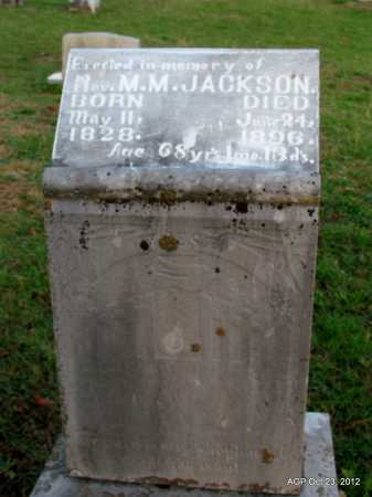 JACKSON, MANLEY M, REV - Randolph County, Arkansas | MANLEY M, REV JACKSON - Arkansas Gravestone Photos