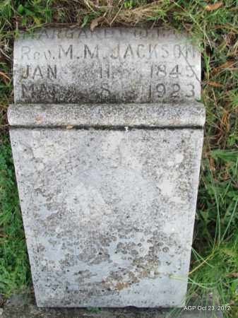 "JACKSON, MARGARET ""PEGGY"" - Randolph County, Arkansas 