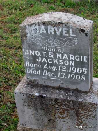 JACKSON, MARVEL - Randolph County, Arkansas | MARVEL JACKSON - Arkansas Gravestone Photos
