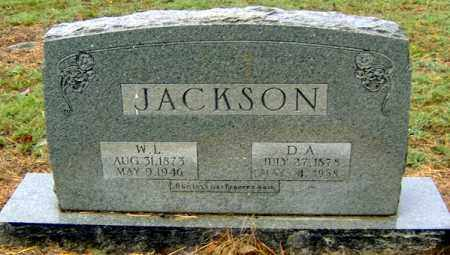 JACKSON, WILLIAM LANGFORD - Randolph County, Arkansas | WILLIAM LANGFORD JACKSON - Arkansas Gravestone Photos