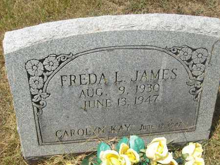 ROGERS JAMES, FREDA L. - Randolph County, Arkansas | FREDA L. ROGERS JAMES - Arkansas Gravestone Photos