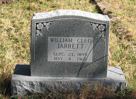 JARRETT, WILLIAM CLEO - Randolph County, Arkansas | WILLIAM CLEO JARRETT - Arkansas Gravestone Photos