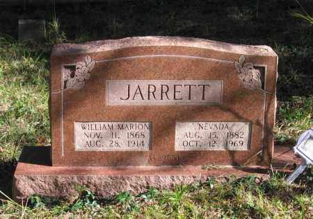 JARRETT, WILLIAM MARION - Randolph County, Arkansas | WILLIAM MARION JARRETT - Arkansas Gravestone Photos