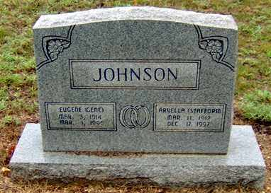 STAFFORD JOHNSON, ARVELLA - Randolph County, Arkansas | ARVELLA STAFFORD JOHNSON - Arkansas Gravestone Photos