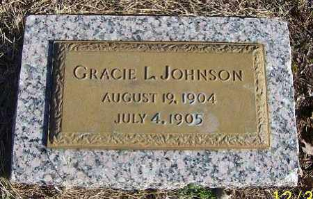 JOHNSON, GRACIE L. - Randolph County, Arkansas | GRACIE L. JOHNSON - Arkansas Gravestone Photos