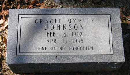 BINKLEY JOHNSON, GRACIE MYRTLE - Randolph County, Arkansas | GRACIE MYRTLE BINKLEY JOHNSON - Arkansas Gravestone Photos