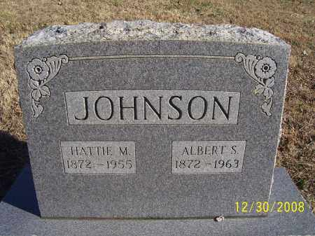 JOHNSON, ALBERT S. - Randolph County, Arkansas | ALBERT S. JOHNSON - Arkansas Gravestone Photos
