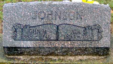 TYLER JOHNSON, ADA E - Randolph County, Arkansas | ADA E TYLER JOHNSON - Arkansas Gravestone Photos