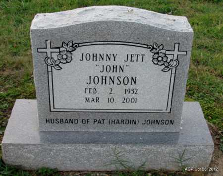 "JOHNSON, JOHNNY JETT ""JOHN"" - Randolph County, Arkansas 