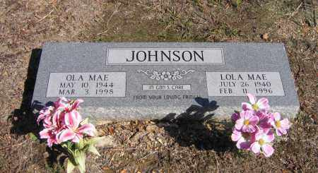 JOHNSON, OLA MAE - Randolph County, Arkansas | OLA MAE JOHNSON - Arkansas Gravestone Photos