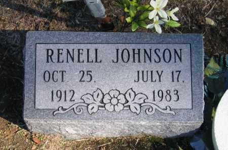 JOHNSON, RENELL - Randolph County, Arkansas | RENELL JOHNSON - Arkansas Gravestone Photos