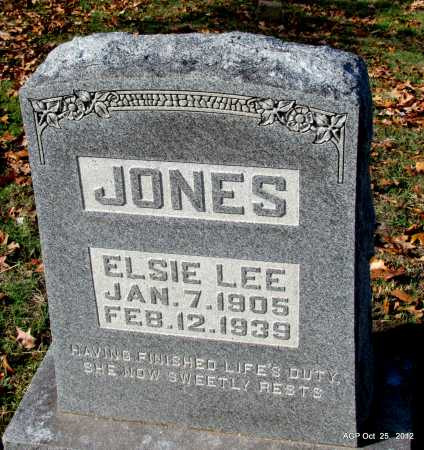 DAVIS JONES, ELSIE LEE - Randolph County, Arkansas | ELSIE LEE DAVIS JONES - Arkansas Gravestone Photos