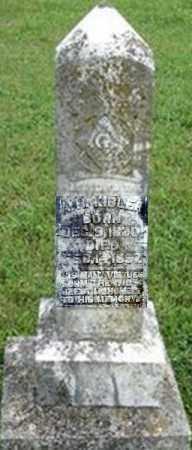 KIBLER (VETERAN CSA), ADOLPHUS HENRY - Randolph County, Arkansas | ADOLPHUS HENRY KIBLER (VETERAN CSA) - Arkansas Gravestone Photos