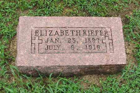 KIEFER, ELIZABETH - Randolph County, Arkansas | ELIZABETH KIEFER - Arkansas Gravestone Photos
