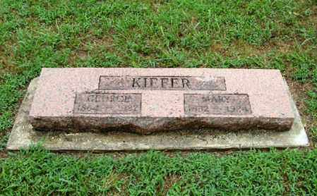 SAUVAIN KIEFER, MARY VIRGINIA - Randolph County, Arkansas | MARY VIRGINIA SAUVAIN KIEFER - Arkansas Gravestone Photos