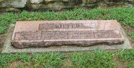 KIEFER, WALBURGA ELL - Randolph County, Arkansas | WALBURGA ELL KIEFER - Arkansas Gravestone Photos