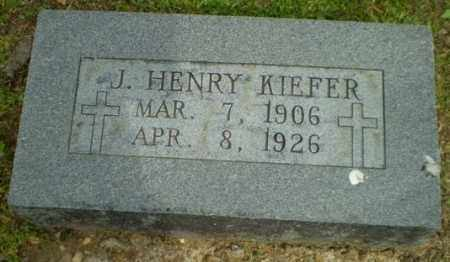 KIEFER, J. HENRY - Randolph County, Arkansas | J. HENRY KIEFER - Arkansas Gravestone Photos