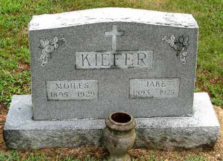 KIEFER, JACOB IGNATZ - Randolph County, Arkansas | JACOB IGNATZ KIEFER - Arkansas Gravestone Photos
