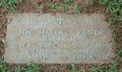 KIEFER (VETERAN VIET, KIA), JOE HAROLD - Randolph County, Arkansas | JOE HAROLD KIEFER (VETERAN VIET, KIA) - Arkansas Gravestone Photos