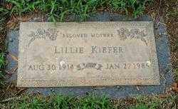 WEAVER KIEFER, LILLIE - Randolph County, Arkansas | LILLIE WEAVER KIEFER - Arkansas Gravestone Photos