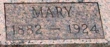 KIEFER, MARY VIRGINIA   CLOSE UP - Randolph County, Arkansas | MARY VIRGINIA   CLOSE UP KIEFER - Arkansas Gravestone Photos
