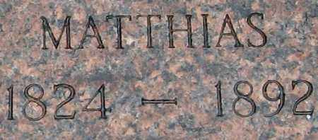 KIEFER, MATTHIAS EDWARD - Randolph County, Arkansas | MATTHIAS EDWARD KIEFER - Arkansas Gravestone Photos