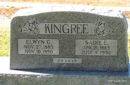 KINGREE, ELWYN G - Randolph County, Arkansas | ELWYN G KINGREE - Arkansas Gravestone Photos