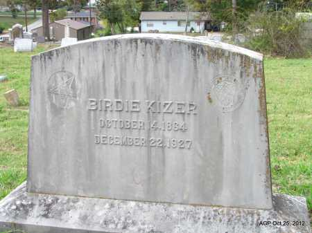 KIZER, BIRDIE - Randolph County, Arkansas | BIRDIE KIZER - Arkansas Gravestone Photos
