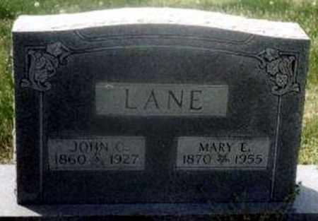 LANE, JOHN COLE - Randolph County, Arkansas | JOHN COLE LANE - Arkansas Gravestone Photos