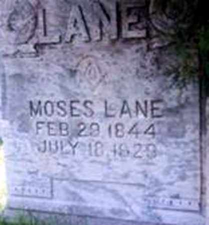 LANE, MOSES - Randolph County, Arkansas | MOSES LANE - Arkansas Gravestone Photos