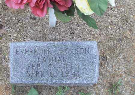 LATHAM, EVERETTE JACKSON - Randolph County, Arkansas | EVERETTE JACKSON LATHAM - Arkansas Gravestone Photos