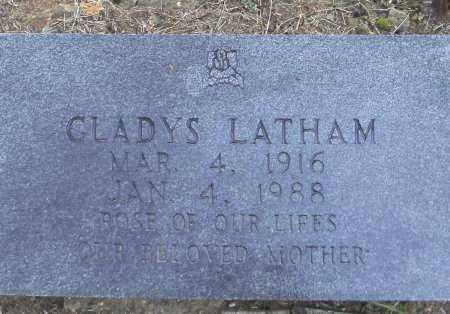 LATHAM, GLADYS - Randolph County, Arkansas | GLADYS LATHAM - Arkansas Gravestone Photos