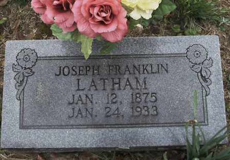 LATHAM, JOSEPH FRANKLIN - Randolph County, Arkansas | JOSEPH FRANKLIN LATHAM - Arkansas Gravestone Photos