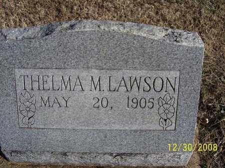 LAWSON, THELMA - Randolph County, Arkansas | THELMA LAWSON - Arkansas Gravestone Photos
