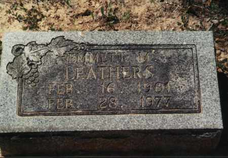 M LEATHERS, EMMITT - Randolph County, Arkansas | EMMITT M LEATHERS - Arkansas Gravestone Photos