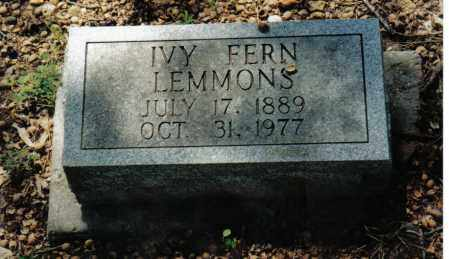 LEMMONS, IVY - Randolph County, Arkansas | IVY LEMMONS - Arkansas Gravestone Photos