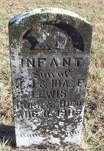 LEWIS, INFANT SON - Randolph County, Arkansas | INFANT SON LEWIS - Arkansas Gravestone Photos