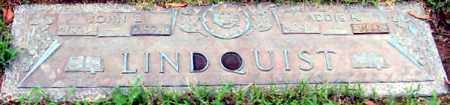 LINDQUIST, ADDIE H - Randolph County, Arkansas | ADDIE H LINDQUIST - Arkansas Gravestone Photos
