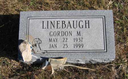 LINEBAUGH, GORDON M. - Randolph County, Arkansas | GORDON M. LINEBAUGH - Arkansas Gravestone Photos