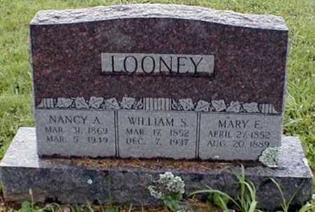 LOONEY, WILLIAM STUBBLEFIELD - Randolph County, Arkansas | WILLIAM STUBBLEFIELD LOONEY - Arkansas Gravestone Photos