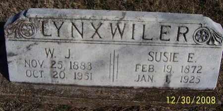 LYNXWILER, SUSIE E. - Randolph County, Arkansas | SUSIE E. LYNXWILER - Arkansas Gravestone Photos