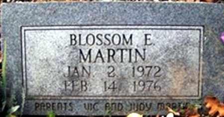 MARTIN, BLOSSOM ERNESTINE - Randolph County, Arkansas | BLOSSOM ERNESTINE MARTIN - Arkansas Gravestone Photos